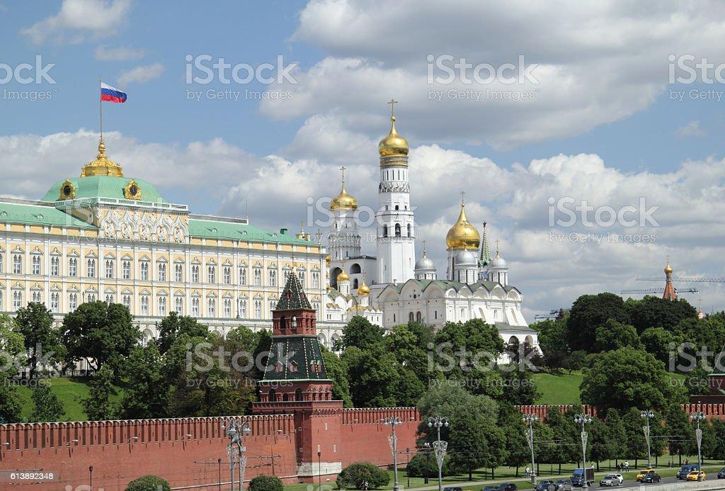 Great Kremlin panorama stock photo