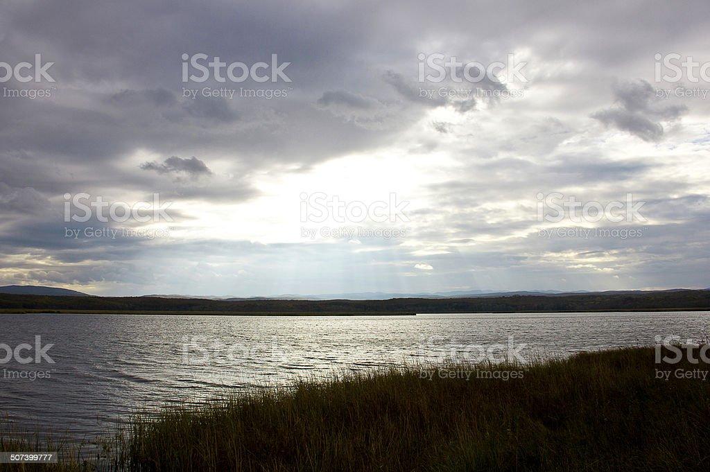 Great Lake stock photo