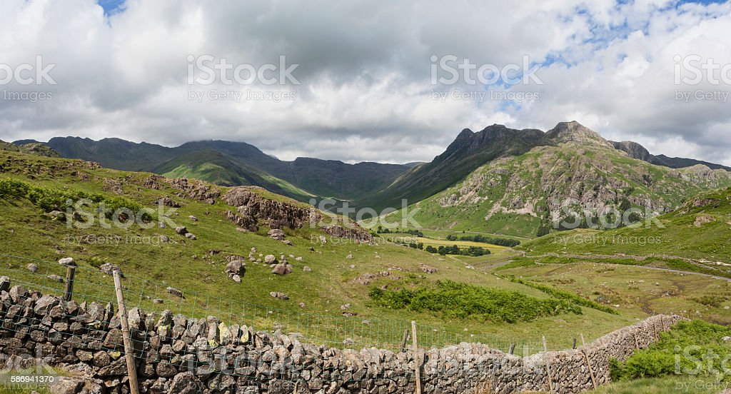 Great Langdale stock photo