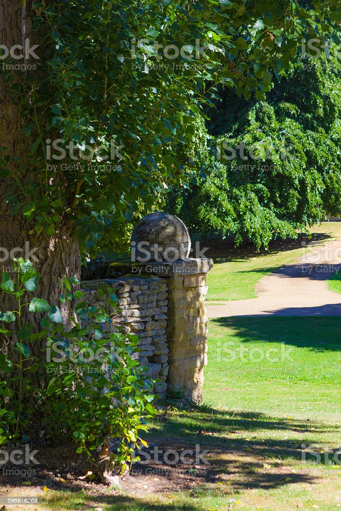 Great Linford village in Milton Keynes stock photo
