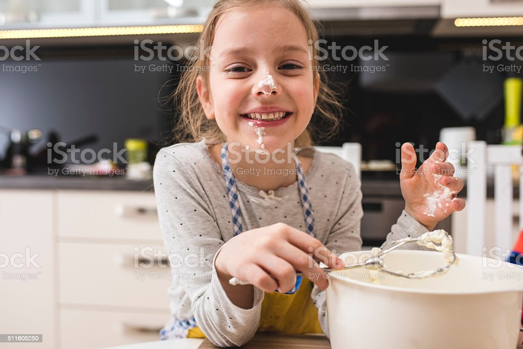 Great little baker stock photo