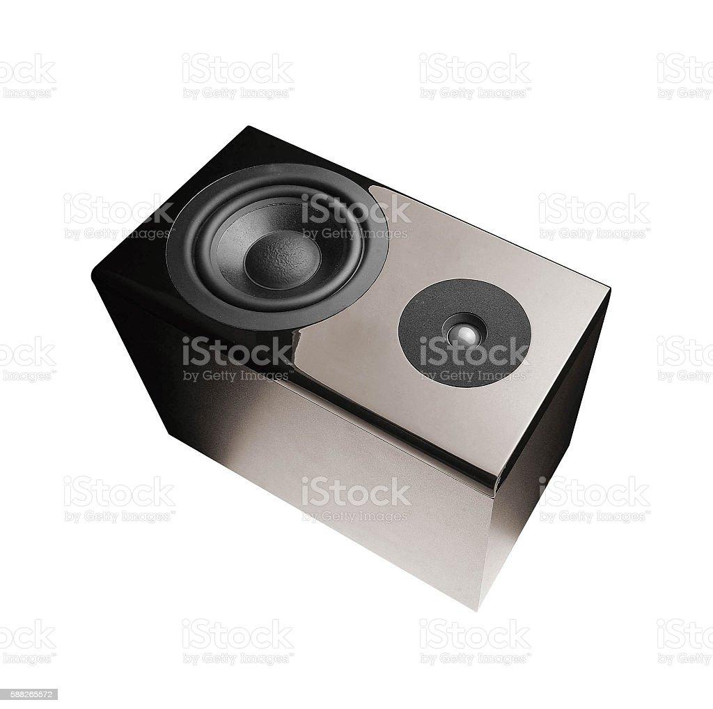 Great loud speakers stock photo