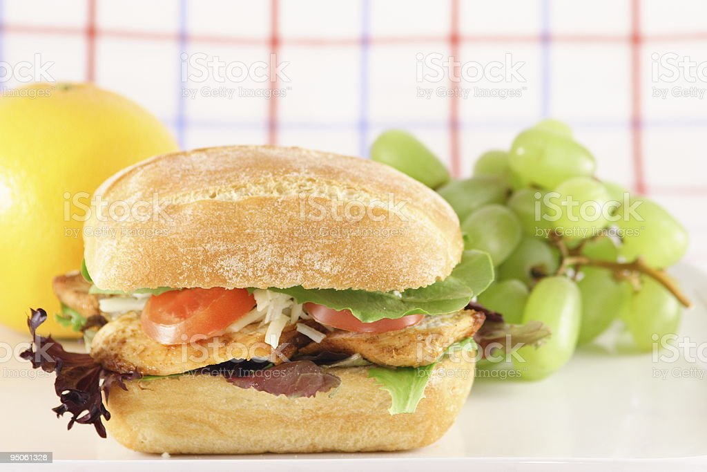 Great lunch sandwich royalty-free stock photo