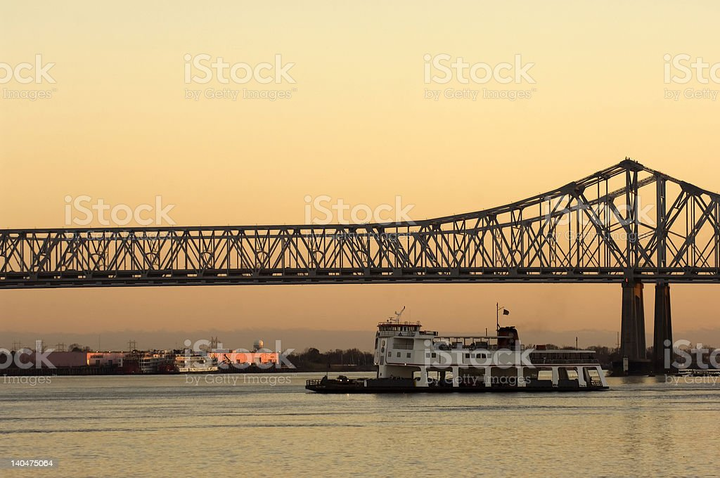 Great Mississippi royalty-free stock photo