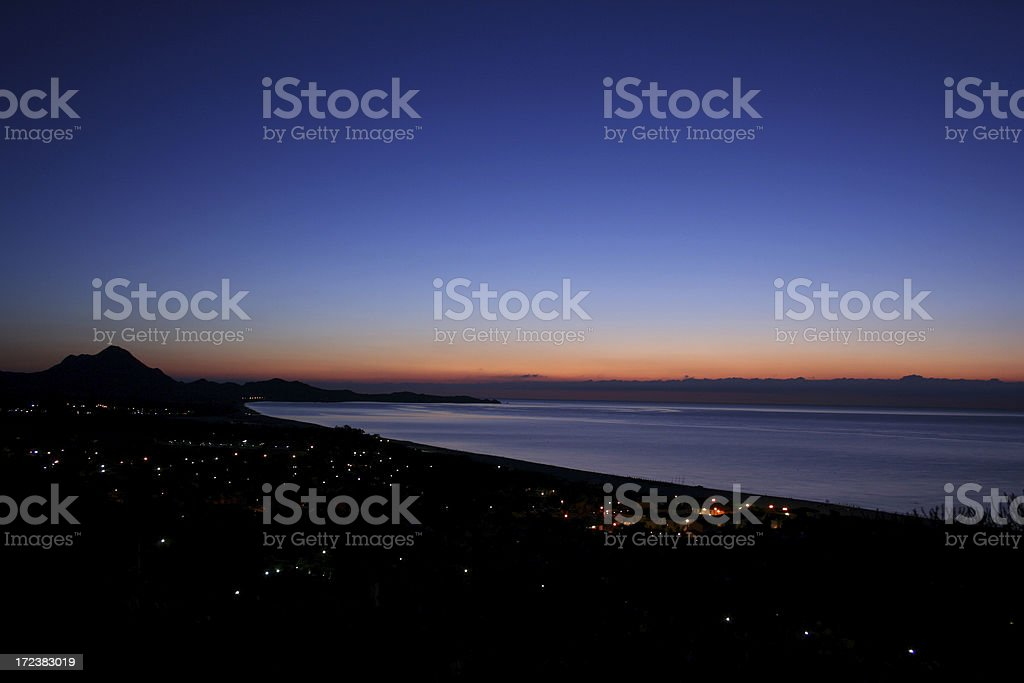 Great morning lights royalty-free stock photo