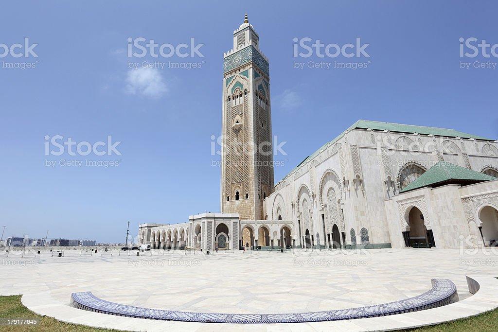 Great Mosque Hassan II in Casablanca, Morocco stock photo