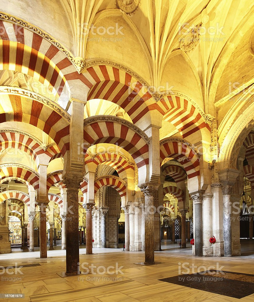 Great Mosque of Cordoba stock photo