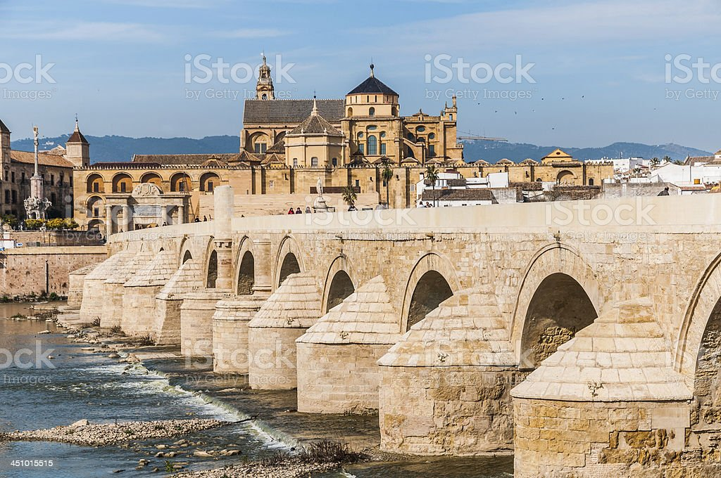 Great Mosque of Cordoba stock photo