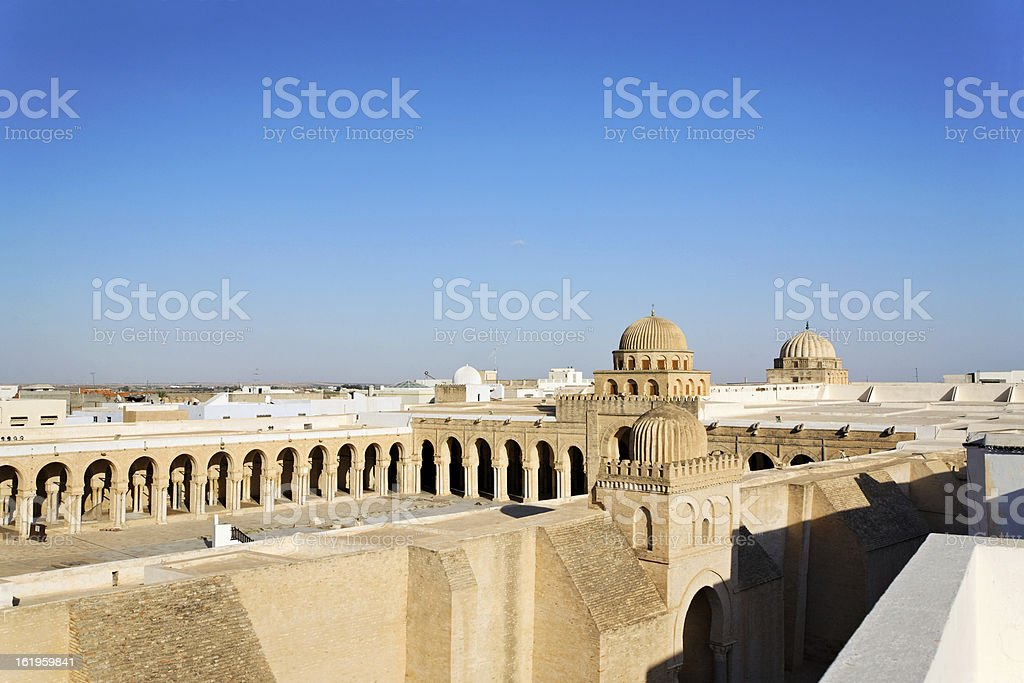 Great Mosque of Kairouan royalty-free stock photo