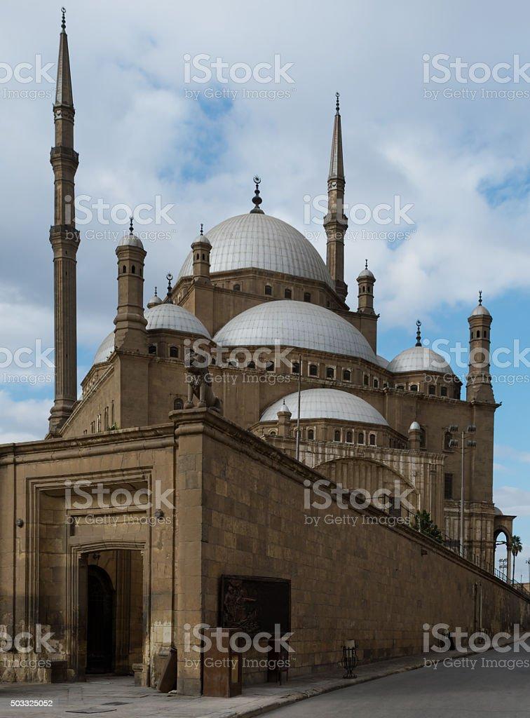 Great Mosque of Muhammad Ali Pasha, Cairo, Egypt stock photo