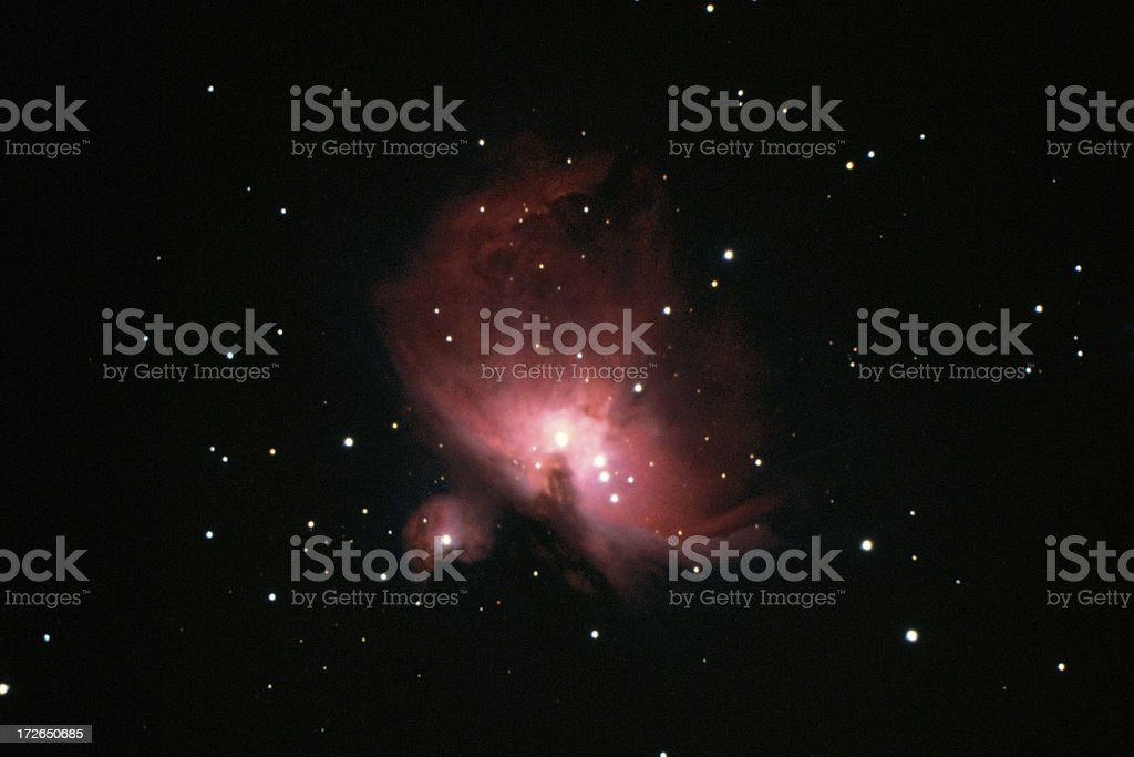 M42 Great Nebula in Orion royalty-free stock photo