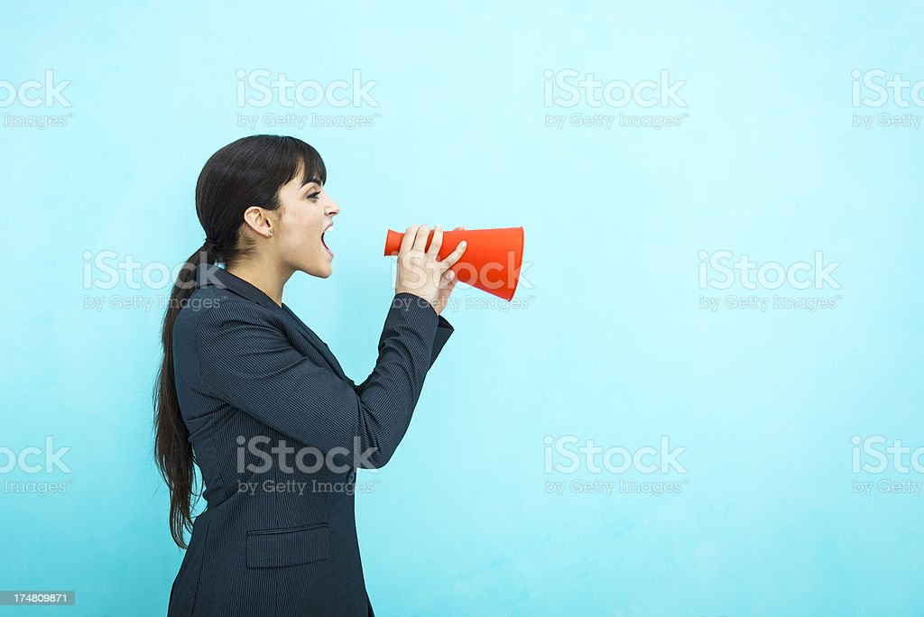 Great news! royalty-free stock photo