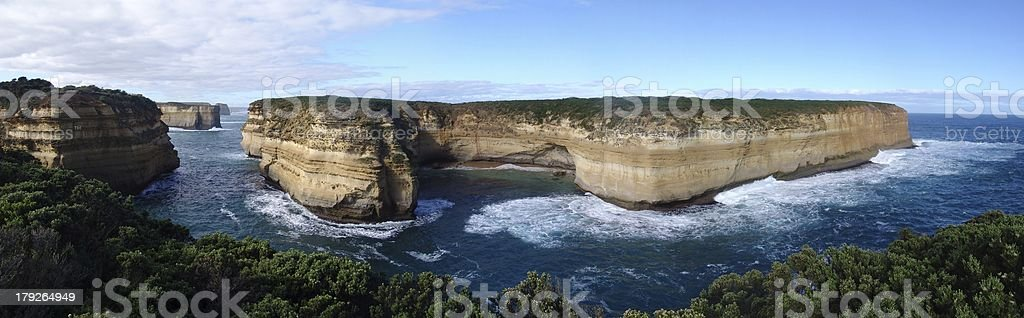 Great Ocean Road Vista royalty-free stock photo