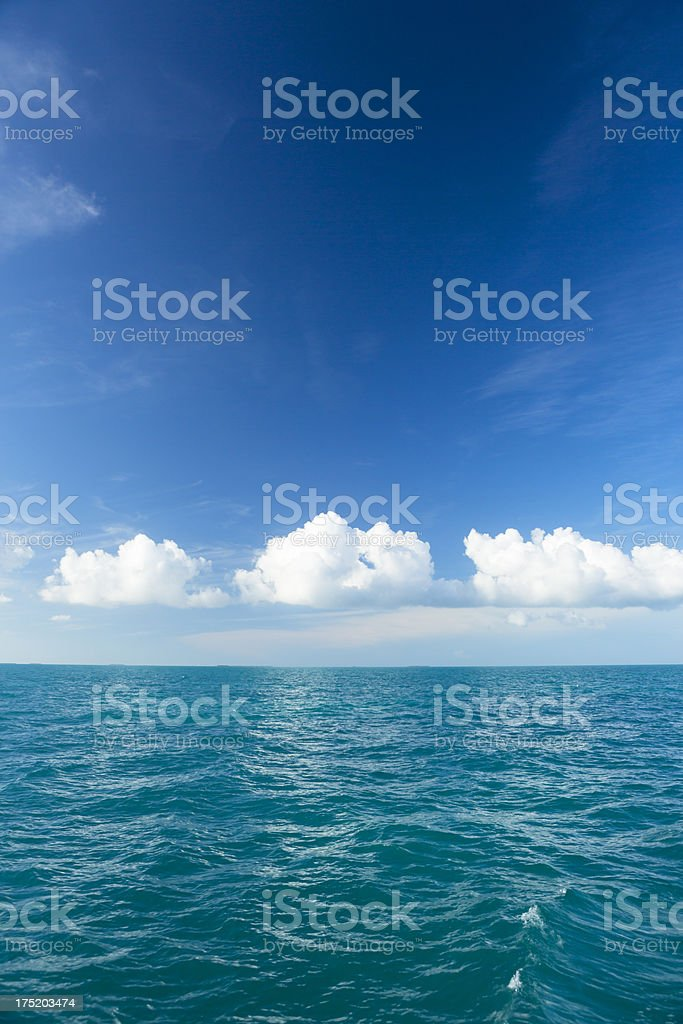 Great ocean view royalty-free stock photo