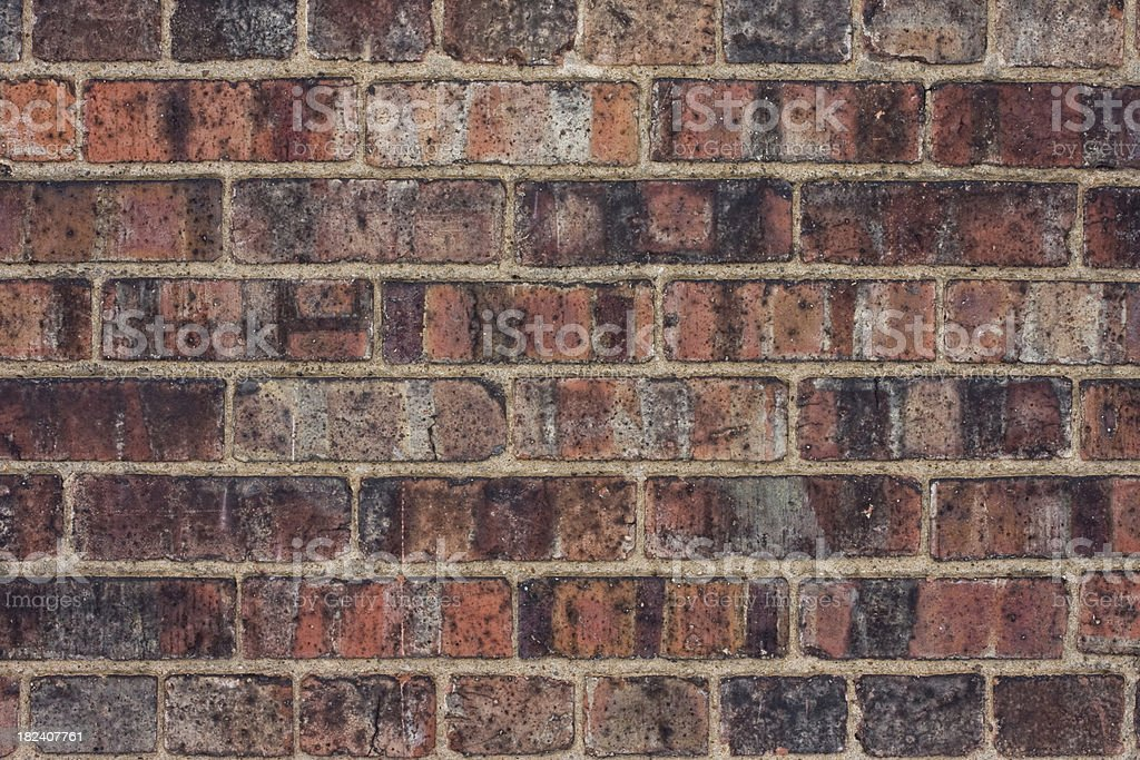 Great Old Brick Wall stock photo
