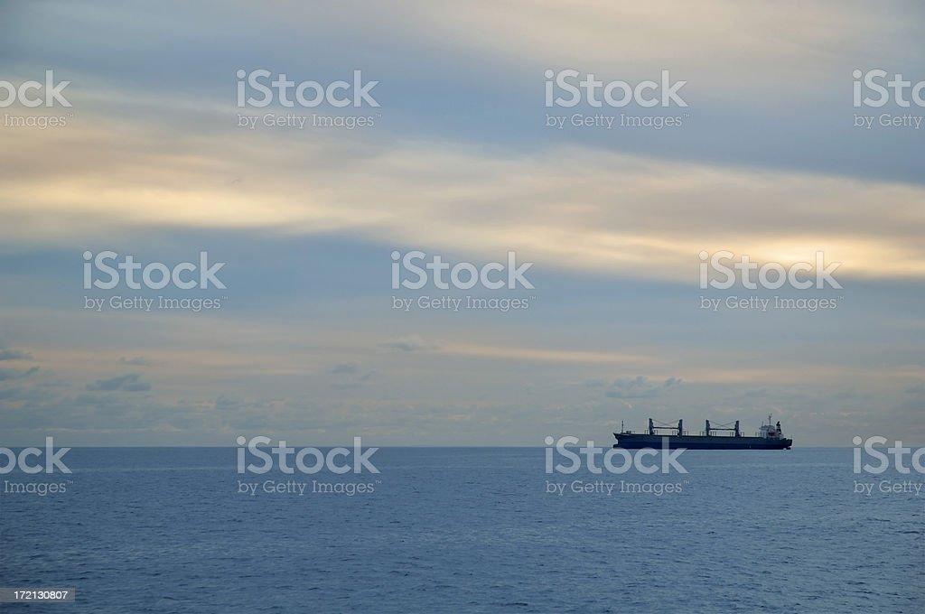 Great Open Ocean royalty-free stock photo