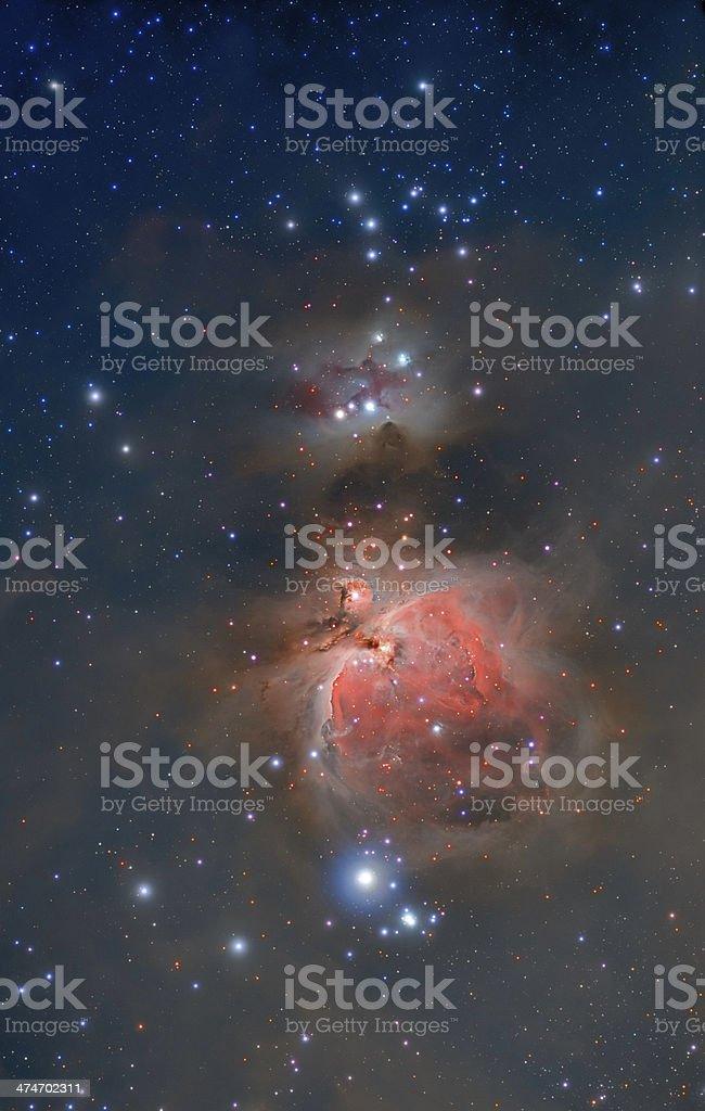 Great Orion Nebula royalty-free stock photo
