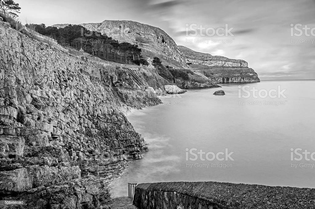 Great Orme Llandudno North Wales stock photo