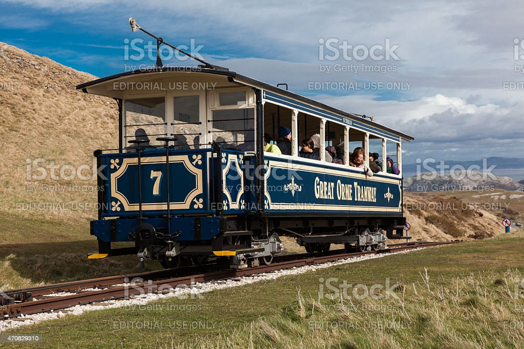 Great Orme Tram stock photo