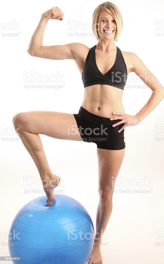 Excelente forma física. foto de stock libre de derechos