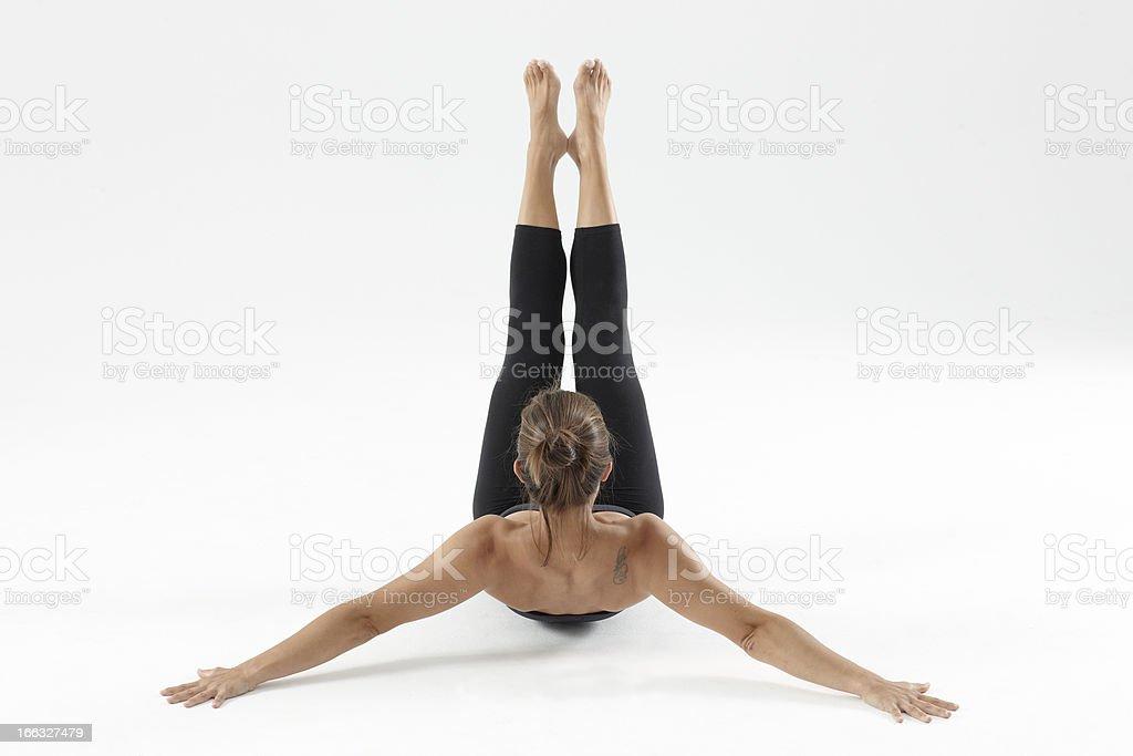 Great pilates stock photo