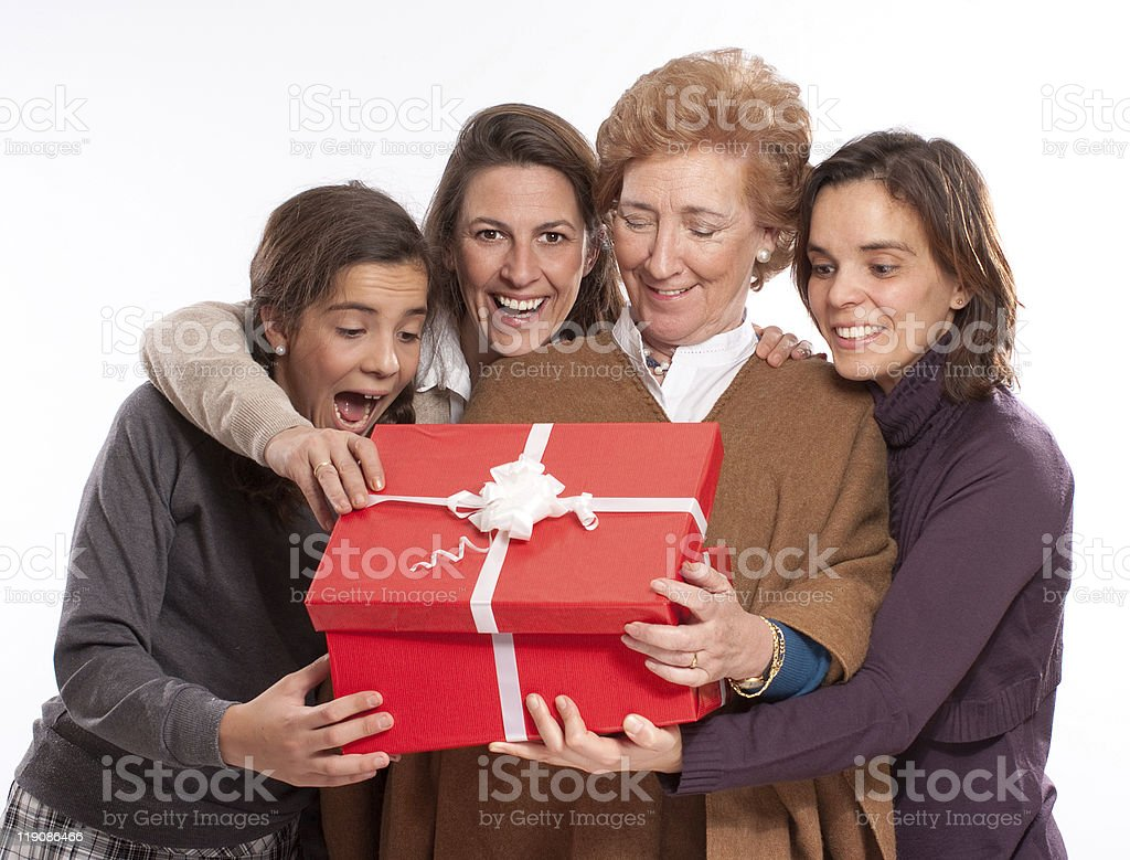Great present royalty-free stock photo