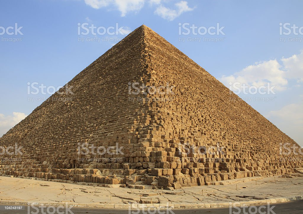 Great Pyramid - Egypt royalty-free stock photo
