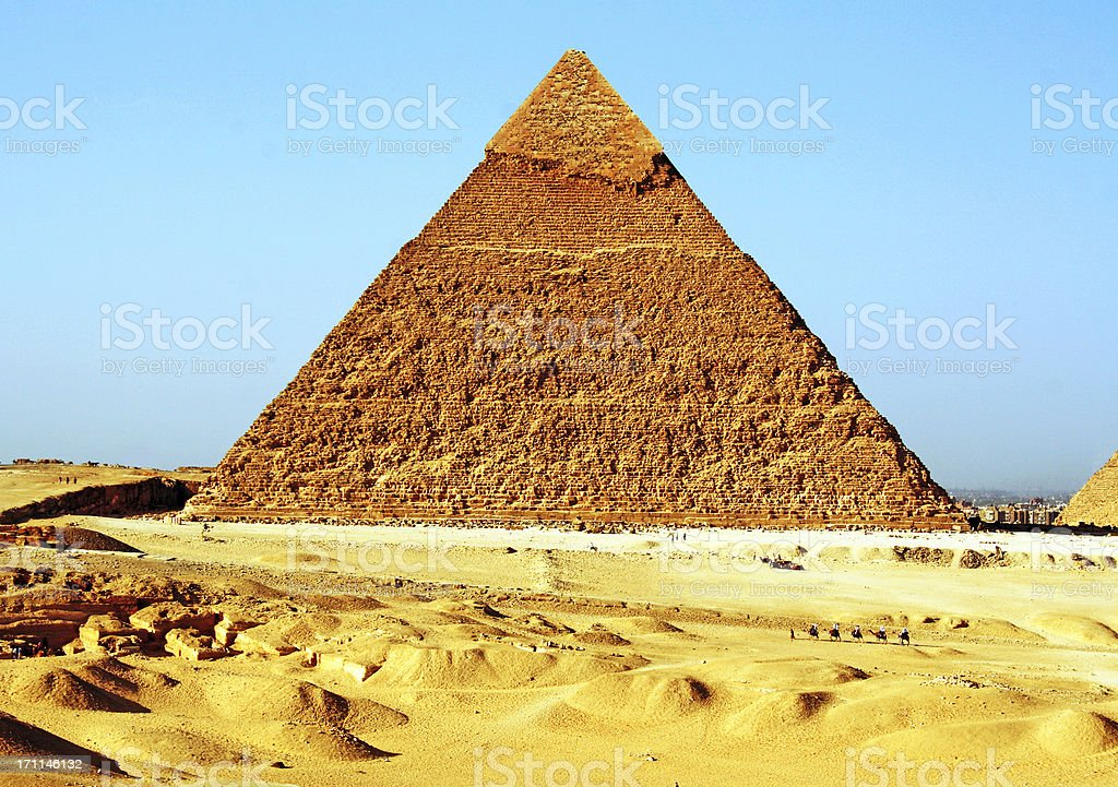 Great Pyramid of Giza, Egypt royalty-free stock photo