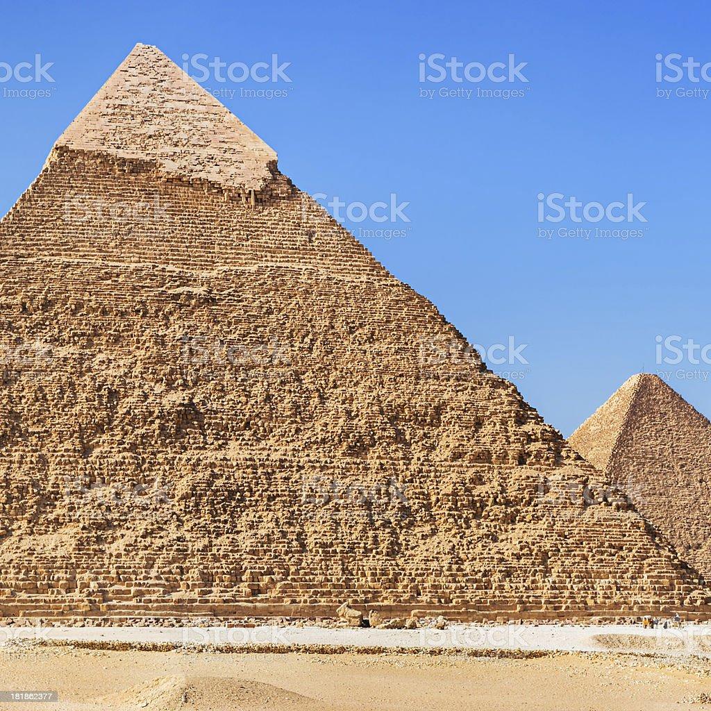 Great Pyramid of Giza - Egypt royalty-free stock photo