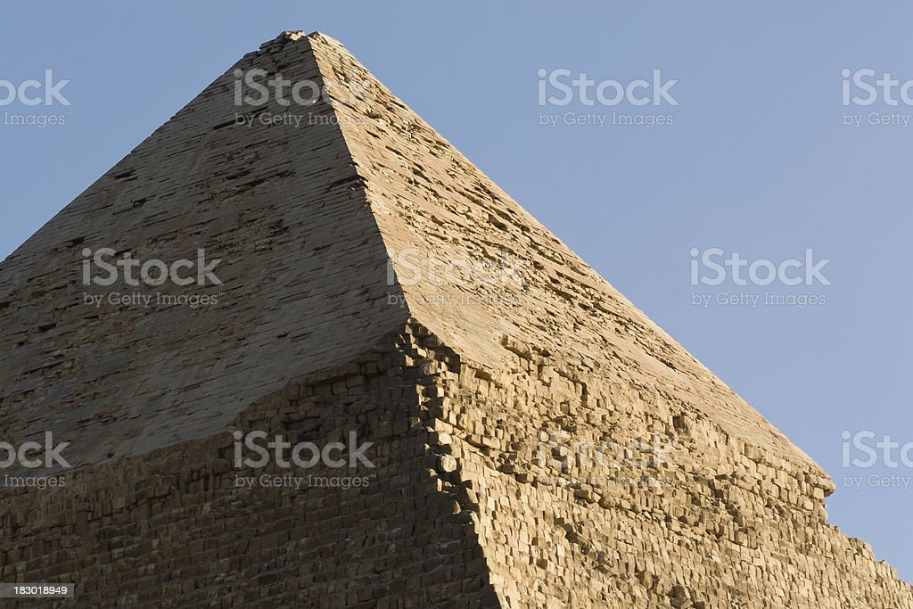 Great Pyramid of Giza, Egypt. royalty-free stock photo