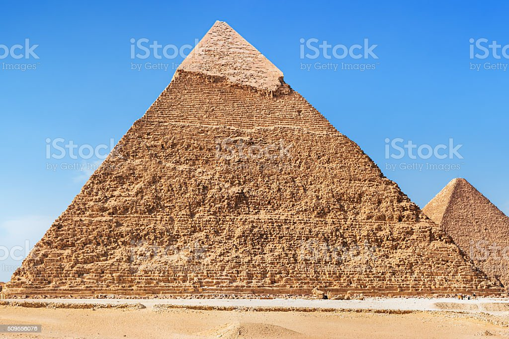 Great Pyramid of Giza - Egypt stock photo