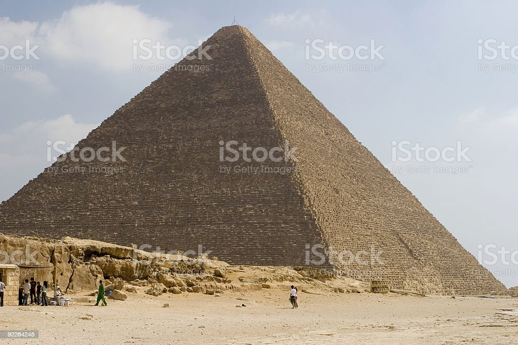 Great Pyramid stock photo