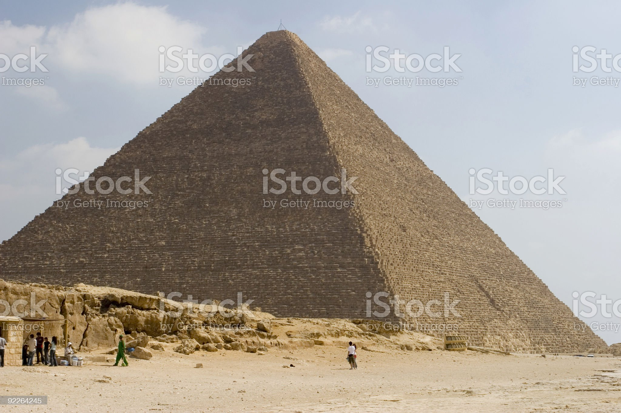 Great Pyramid royalty-free stock photo