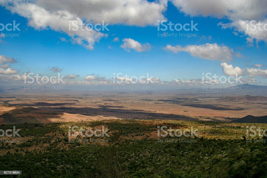 Great Rift Valley, Kenya, Africa stock photo