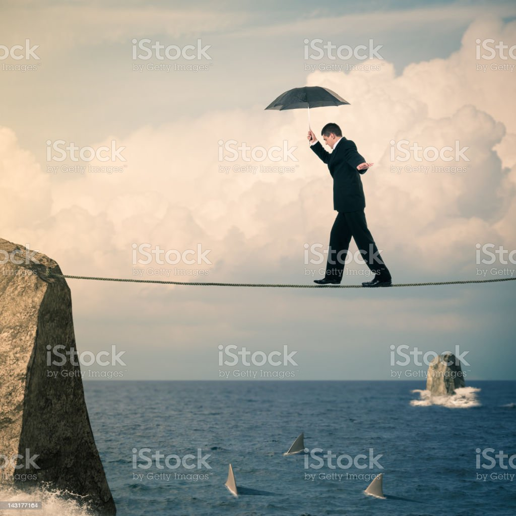 Great Risk stock photo