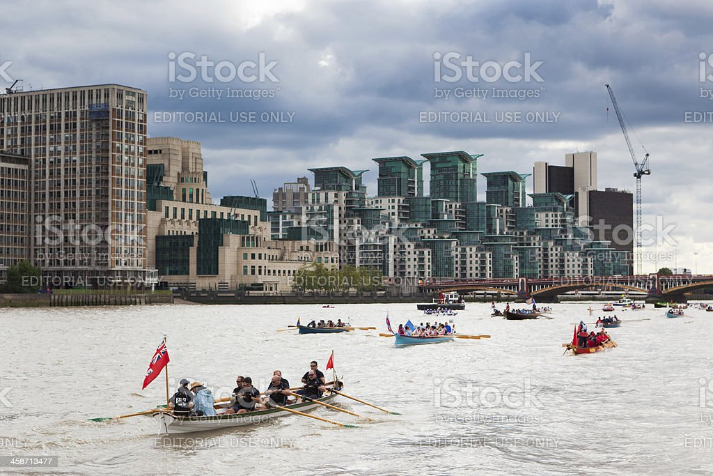 Great River Race 2010 royalty-free stock photo