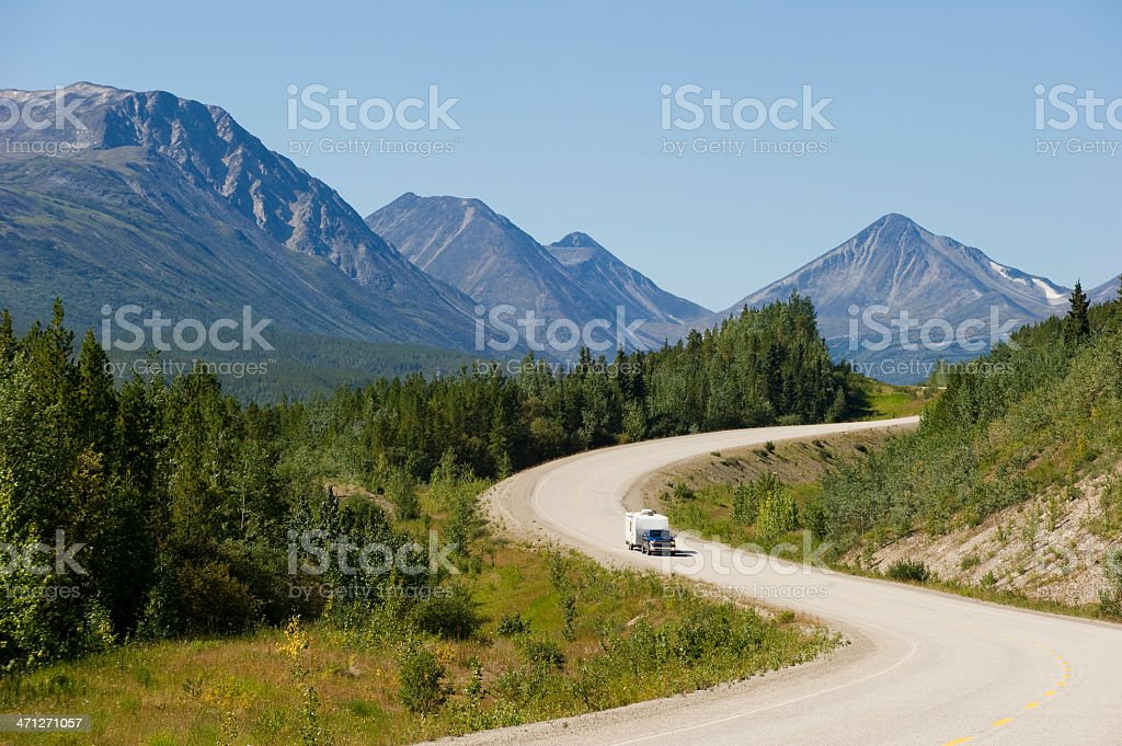 Great Road Trip royalty-free stock photo