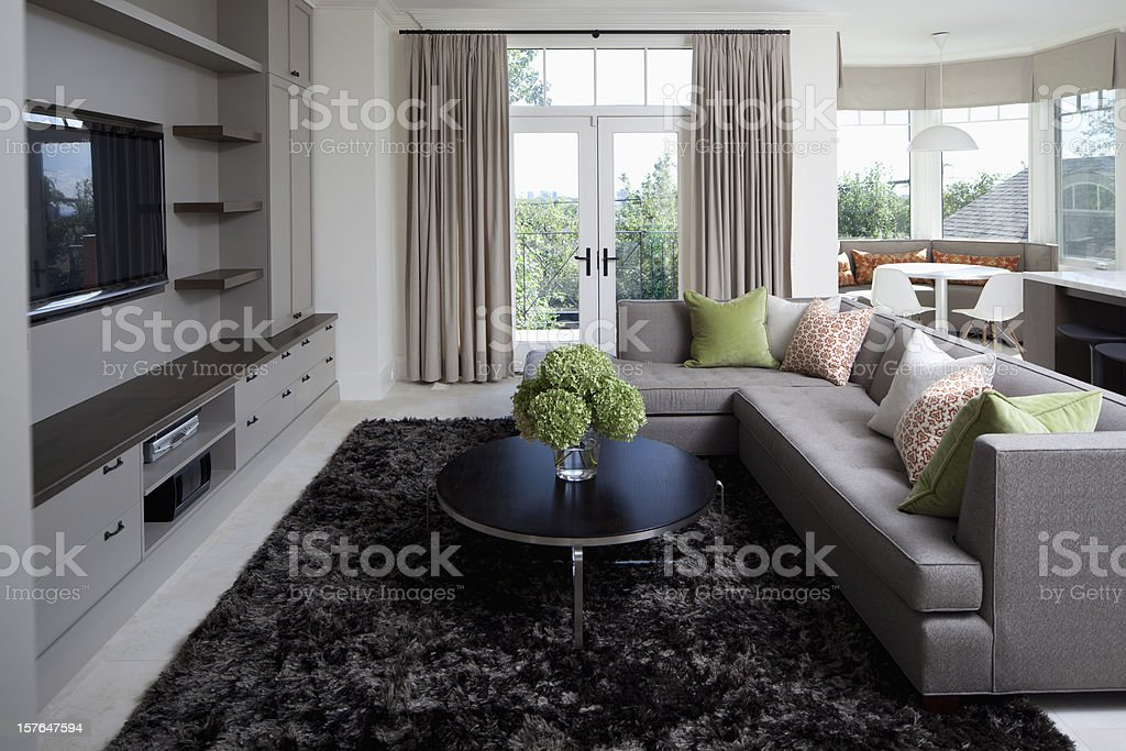 Great Room stock photo