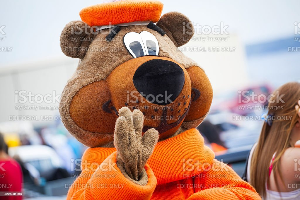 Great Root Bear A&W Mascot stock photo