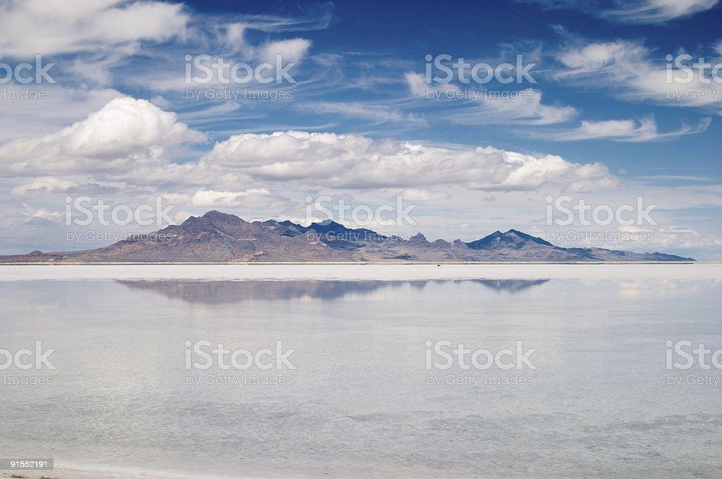 Great Salt Lake, Utah royalty-free stock photo