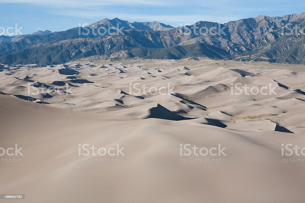 Great Sand Dunes National Park, Colorado stock photo