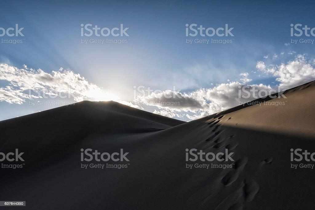 Great Sand Dunes National Park, Colorado, USA stock photo