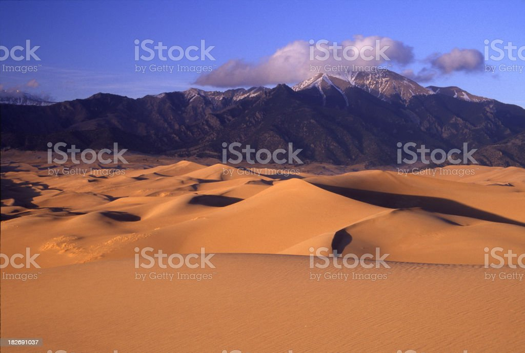 Great Sand Dunes royalty-free stock photo