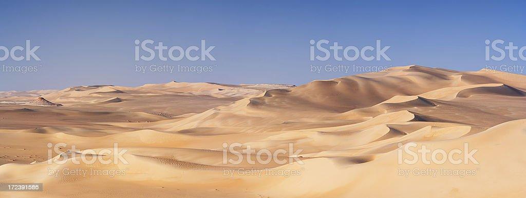 Great Sand Sea, Libyan Desert, Africa royalty-free stock photo