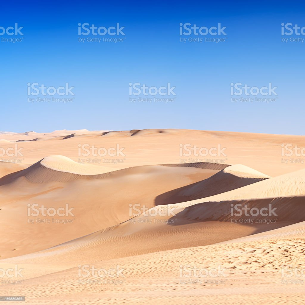 Great Sand Sea, Libyan Desert, Africa stock photo