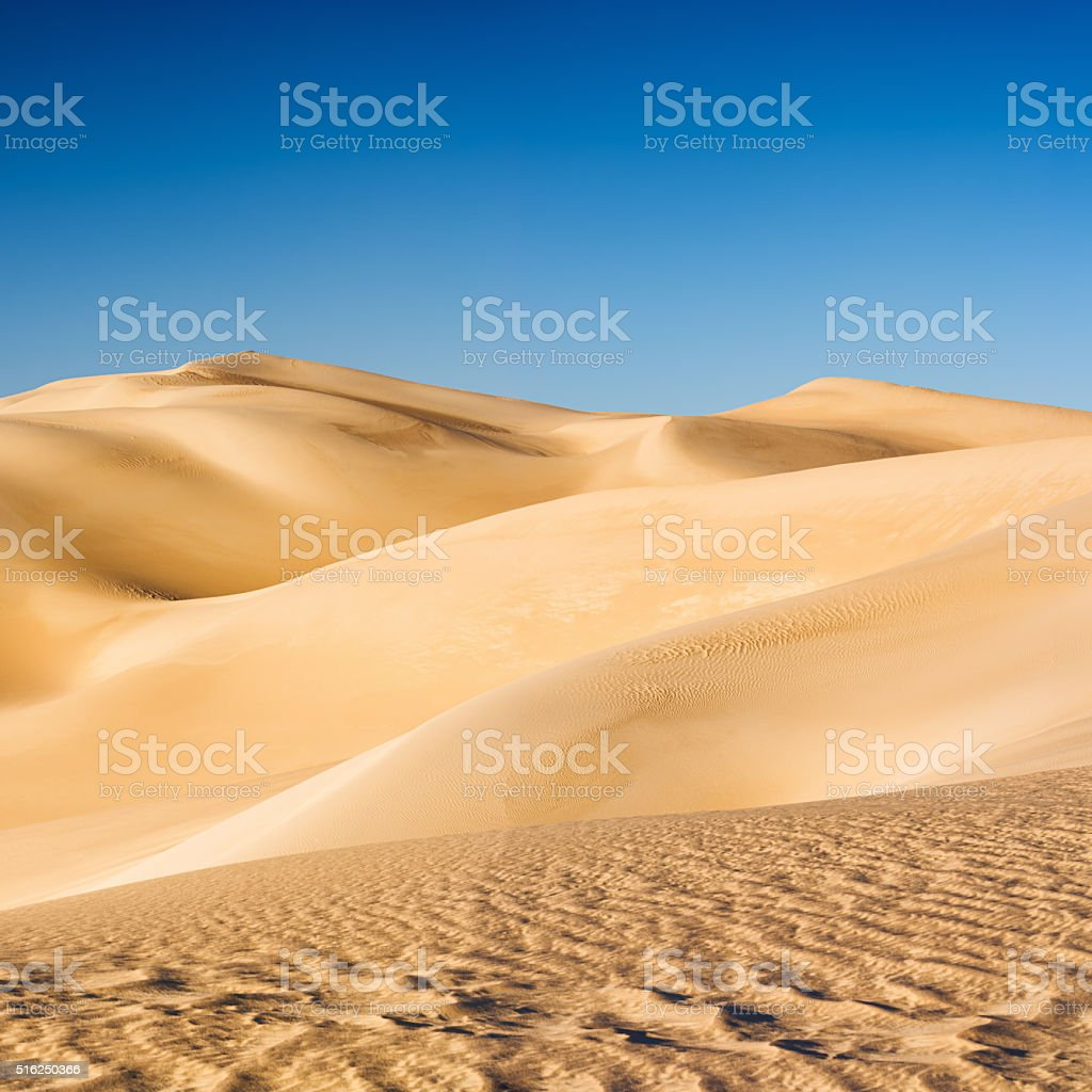 Great Sand Sea, Libyan Desert, part of Sahara, Africa stock photo