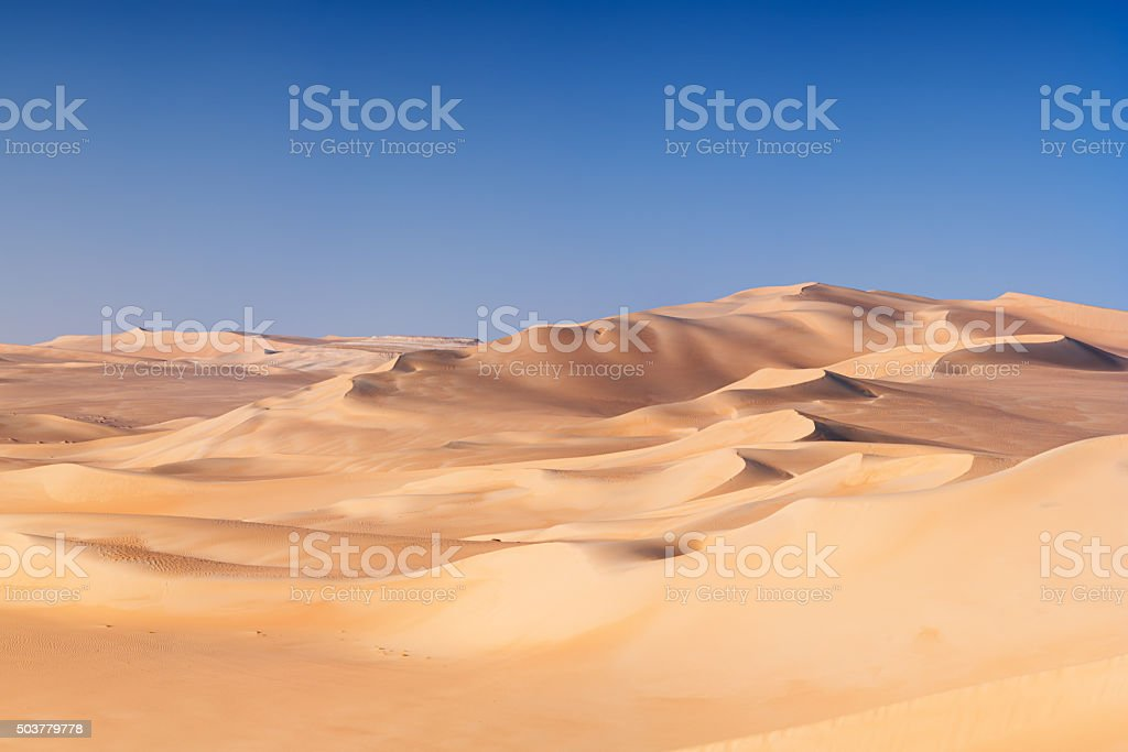 Great Sand Sea, Sahara Desert, Africa stock photo