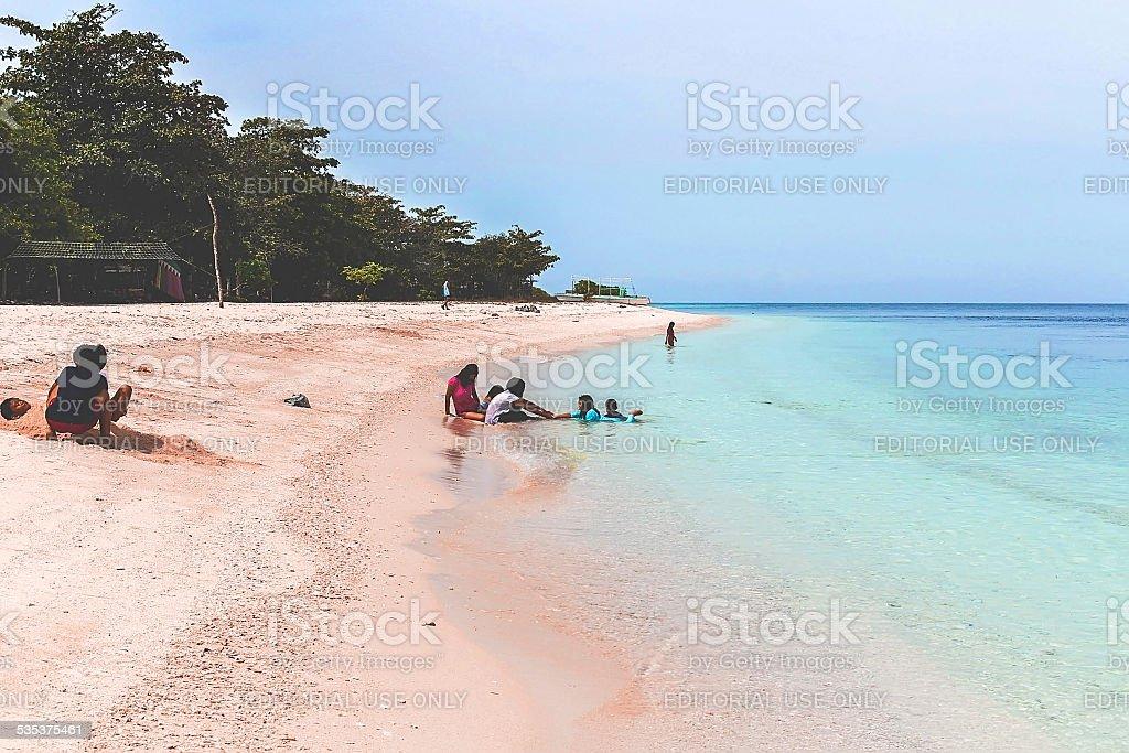 Great Santa Cruz Island, Philippines stock photo