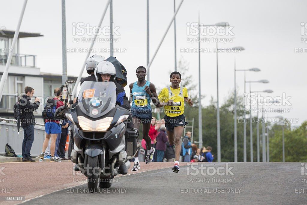 Great Scottish Run royalty-free stock photo