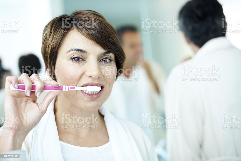 Great smiles start with excellent dental care royalty-free stock photo